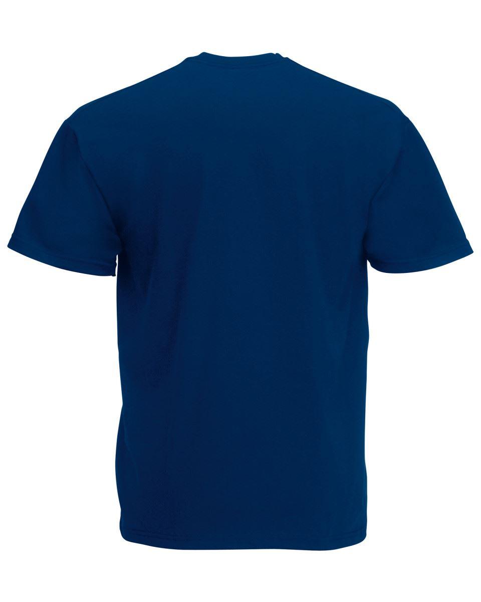 Fruit-of-the-Loom-Super-Premium-T-Shirt-Heavy-Cotton-Blank-Tee-Shirt-S-XXXL Indexbild 25