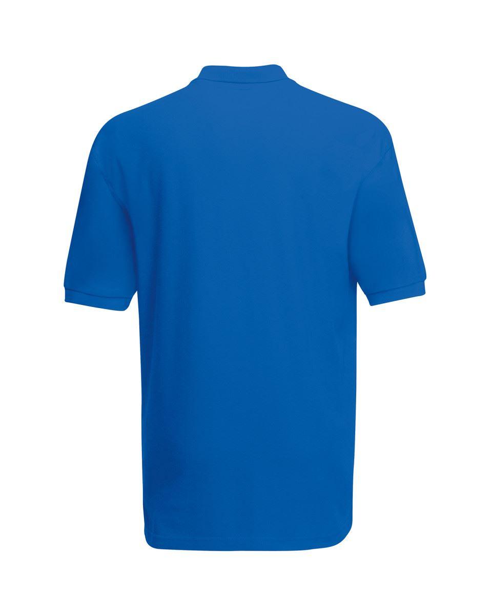 Fruit-of-the-Loom-Plain-Cotton-Mens-Polo-Shirts-T-Shirt-Short-Sleeve-Tshirt thumbnail 25