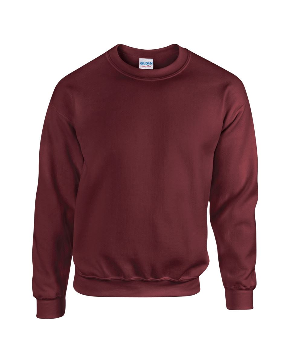 Gildan-Heavy-Blend-Adult-Crew-Neck-Pullover-Sweatshirt-Sweater-Workwear-Uniform thumbnail 119