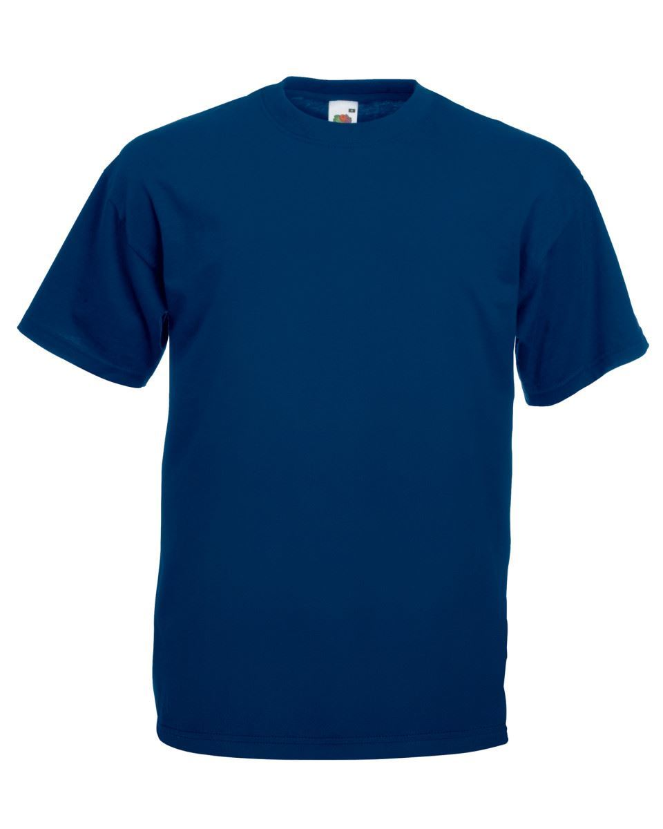 3-Pack-Fruit-of-the-Loom-Plain-T-shirts-Unisex-Hombres-Mujeres-Camiseta