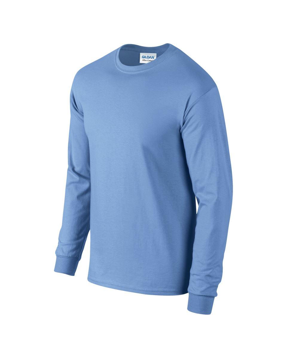 Gildan-Mens-Ultra-Cotton-Adult-Long-Sleeve-Plain-T-Shirt-Tshirt-Cotton-Tee-Shirt thumbnail 46