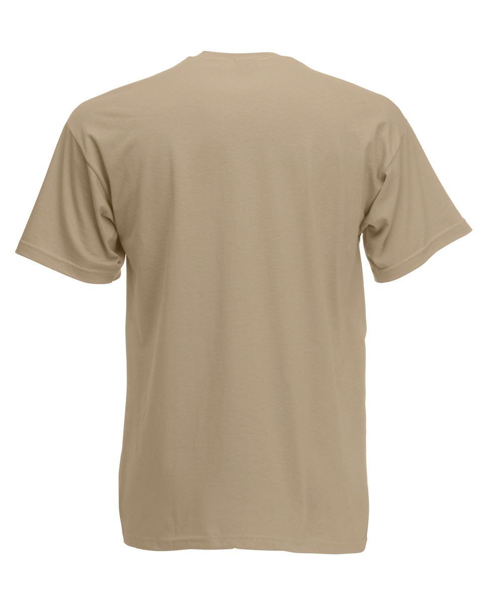 Fruit-of-the-Loom-Super-Premium-T-Shirt-Heavy-Cotton-Blank-Tee-Shirt-S-XXXL Indexbild 21