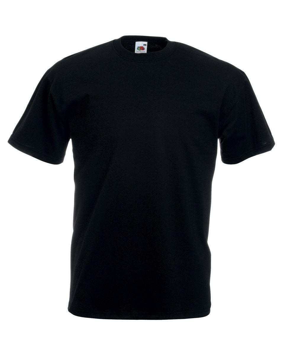 5-Pack-Men-039-s-Fruit-of-the-Loom-Plain-100-Cotton-Blank-Tee-Shirt-Tshirt-T-Shirt thumbnail 18