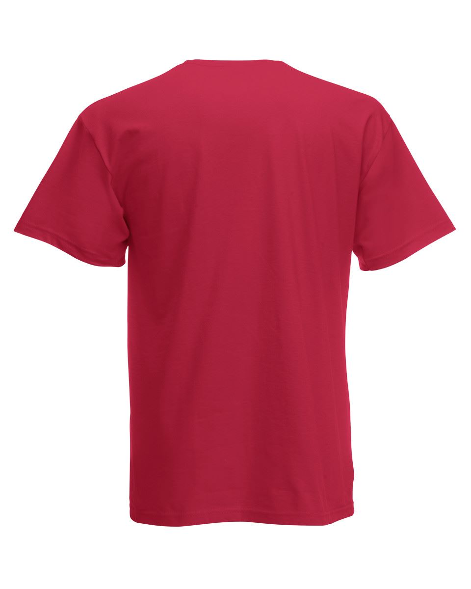 Fruit-of-the-Loom-Cotton-Plain-Blank-Men-039-s-Women-039-s-Original-Tshirt-T-Shirt-NEW thumbnail 19