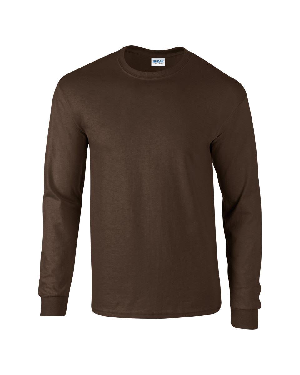 Gildan-Mens-Ultra-Cotton-Adult-Long-Sleeve-Plain-T-Shirt-Tshirt-Cotton-Tee-Shirt thumbnail 55