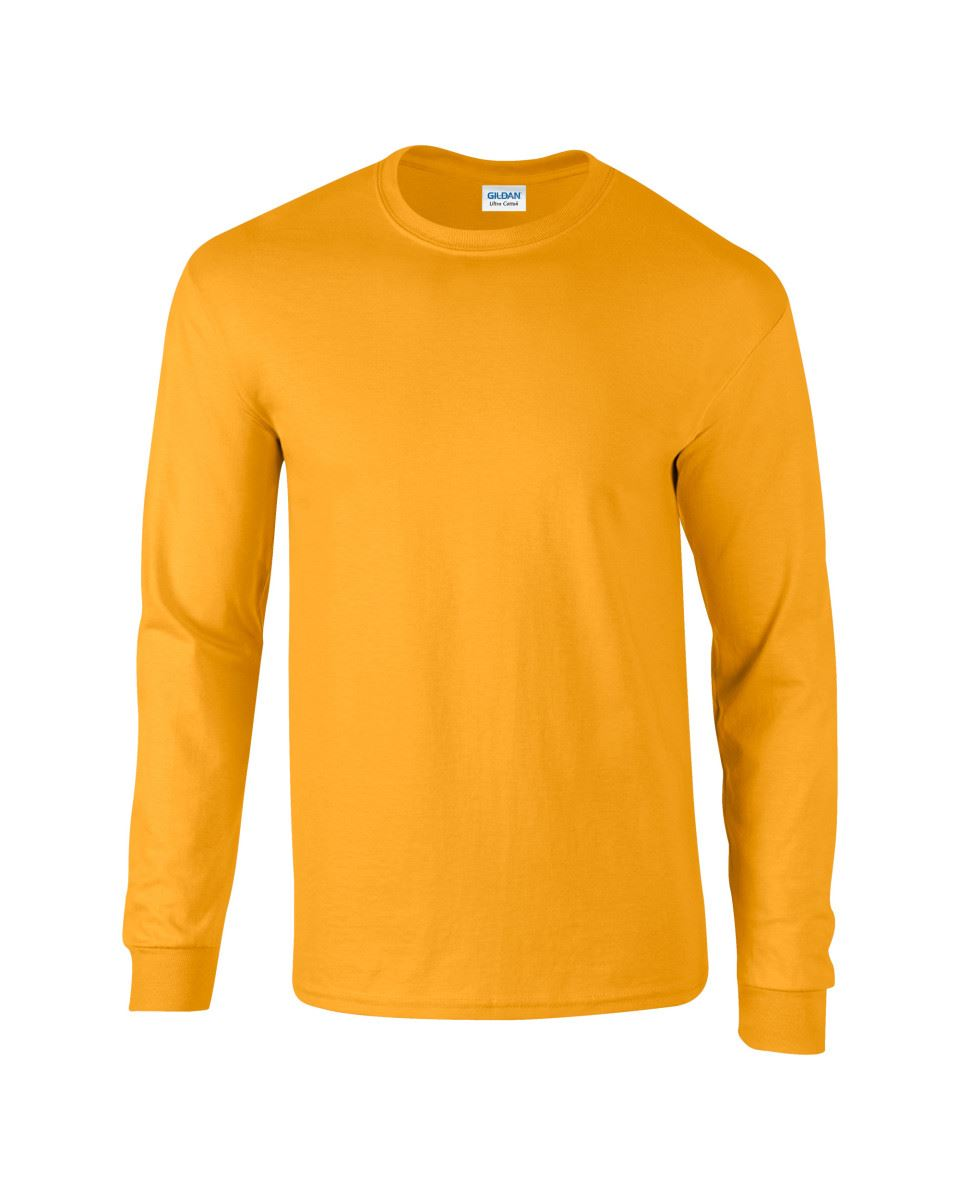 Gildan-Mens-Ultra-Cotton-Adult-Long-Sleeve-Plain-T-Shirt-Tshirt-Cotton-Tee-Shirt thumbnail 70