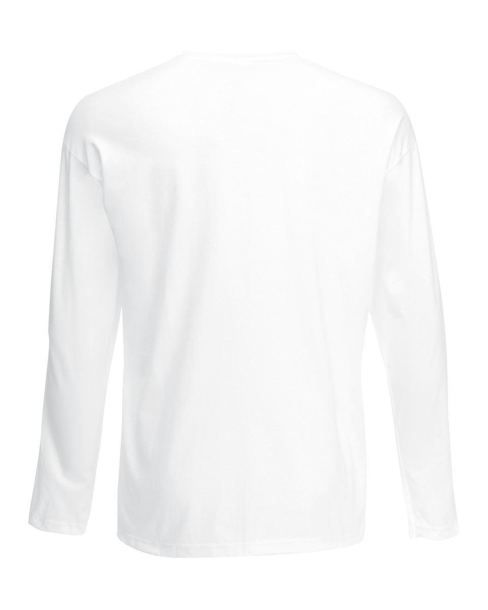 3-Pack-Men-039-s-Fruit-of-the-Loom-Long-Sleeve-T-Shirt-Plain-Tee-Shirt-Top-Cotton thumbnail 3
