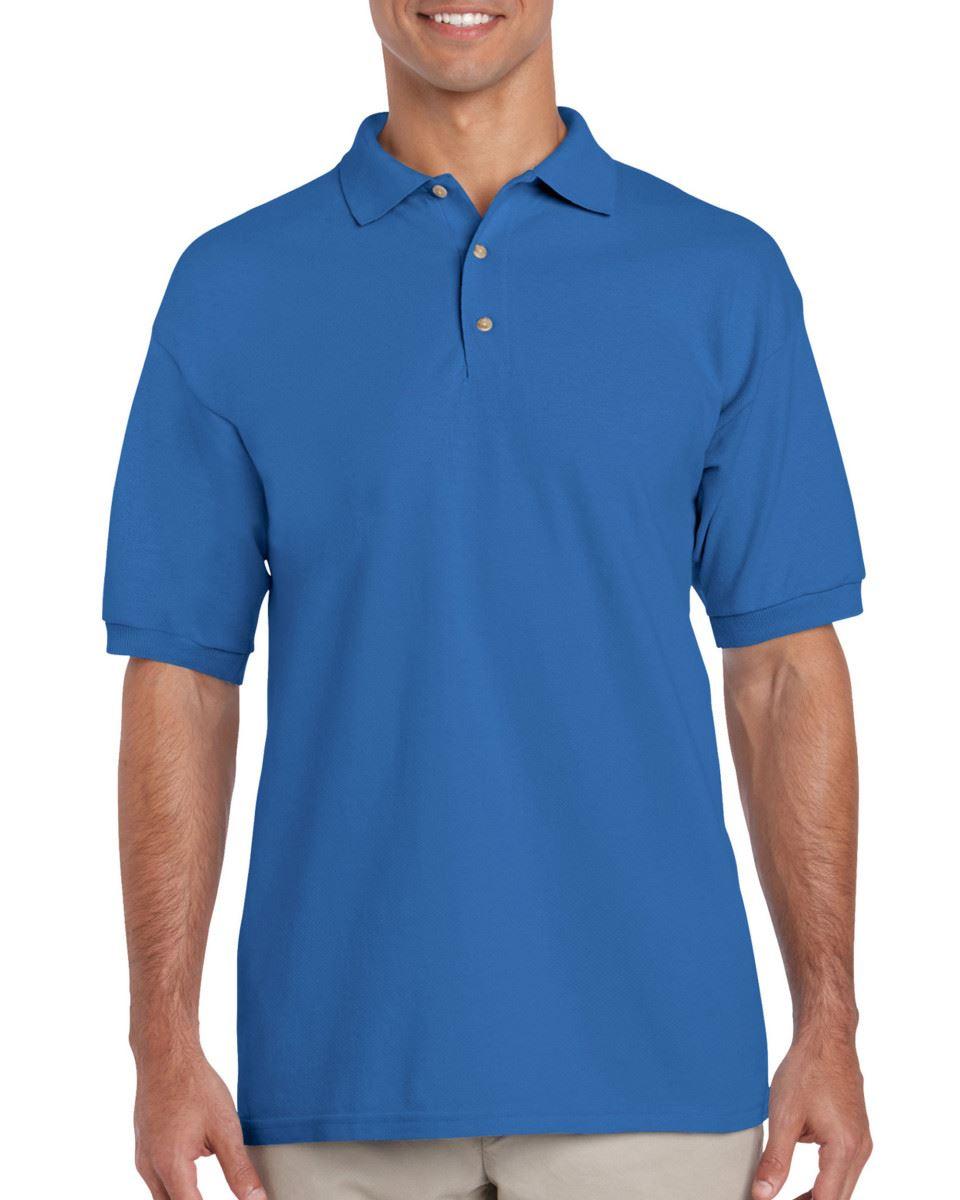 5-Pack-Gildan-Ultra-Cotton-Adult-Pique-Plain-Polo-Shirt-Tee-T-Shirt-Ringspun thumbnail 56