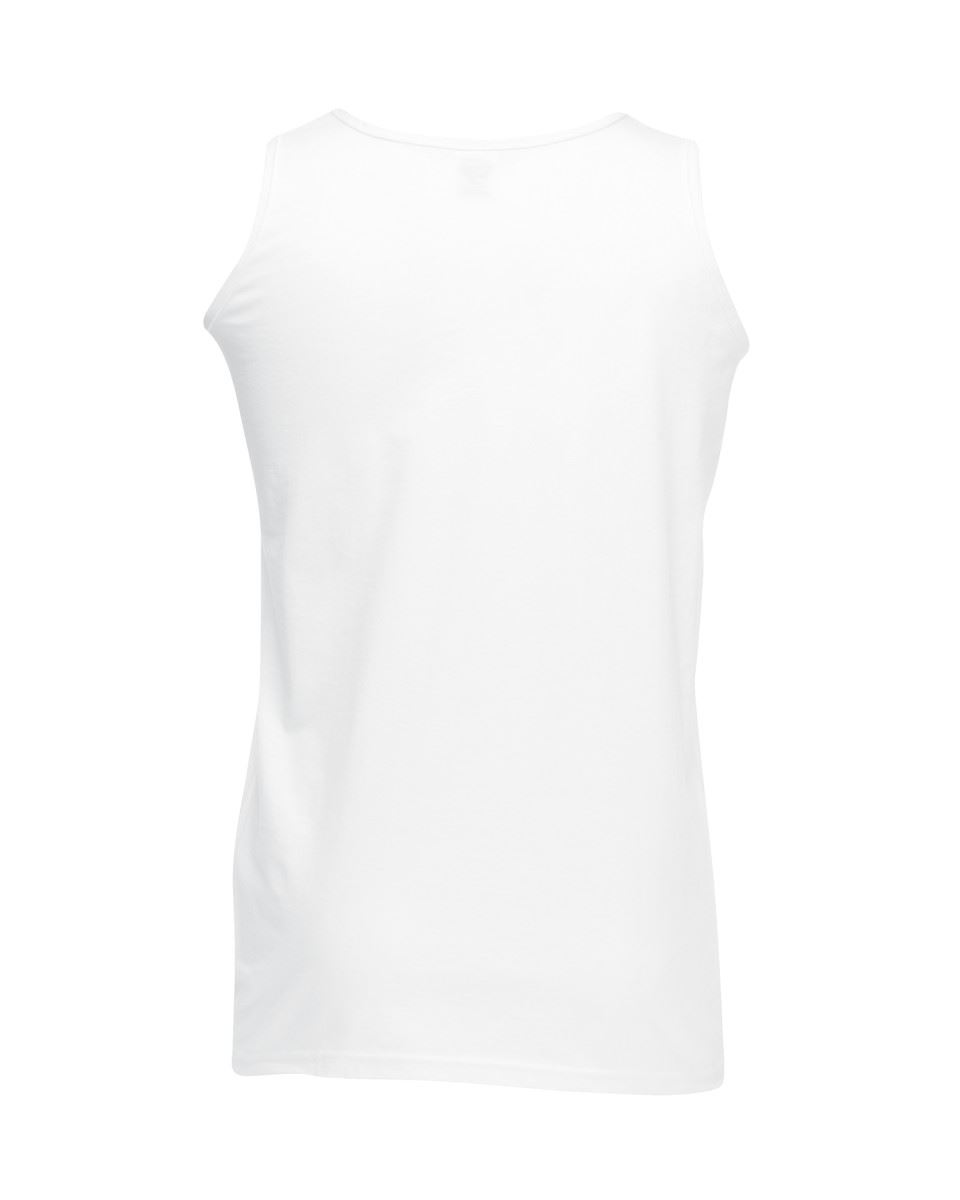 Fruit-of-the-Loom-Plain-Mens-Tank-Tops-Athletic-Vest-Gym-Training-Sports-T-Shirt thumbnail 3