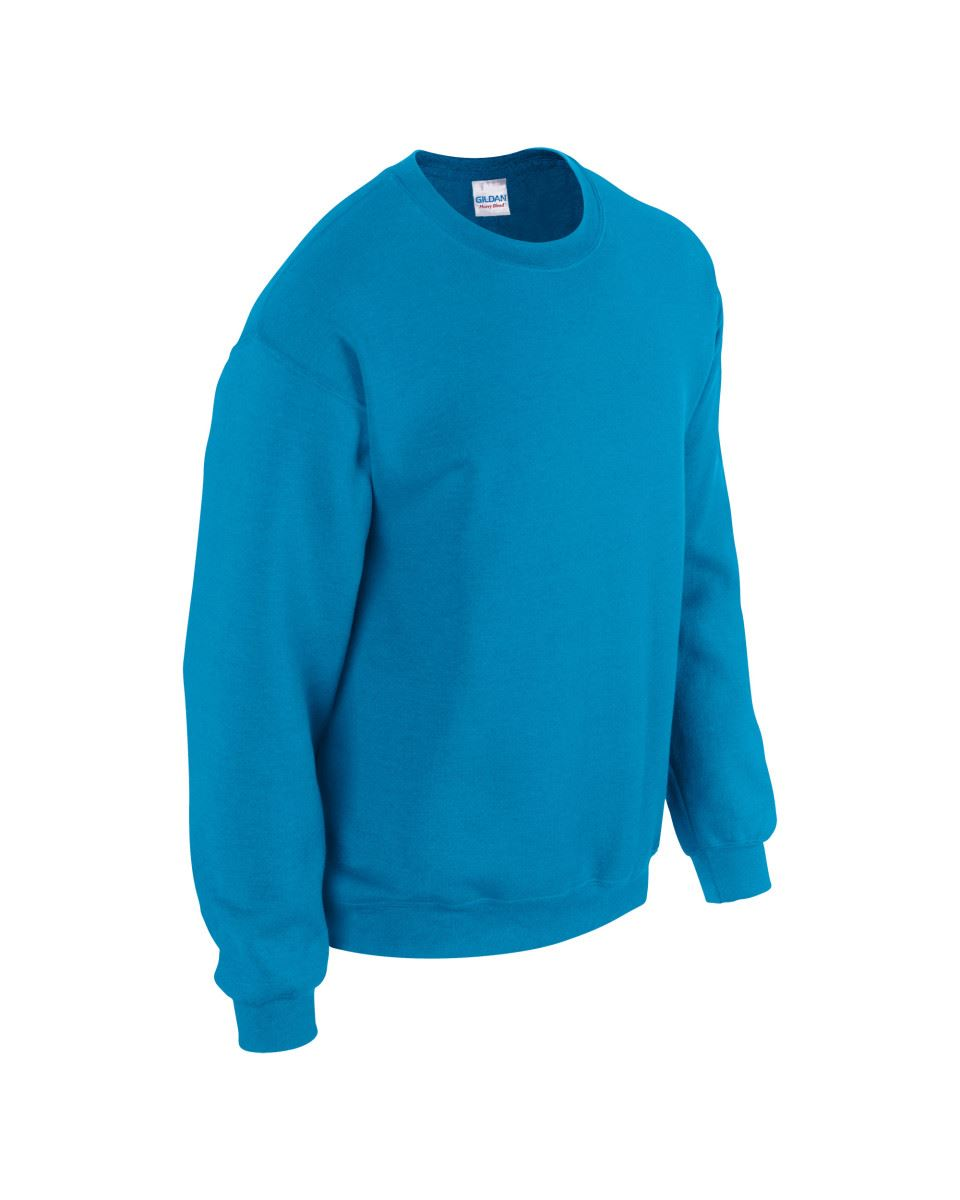 Gildan-Heavy-Blend-Adult-Crew-Neck-Pullover-Sweatshirt-Sweater-Workwear-Uniform thumbnail 41