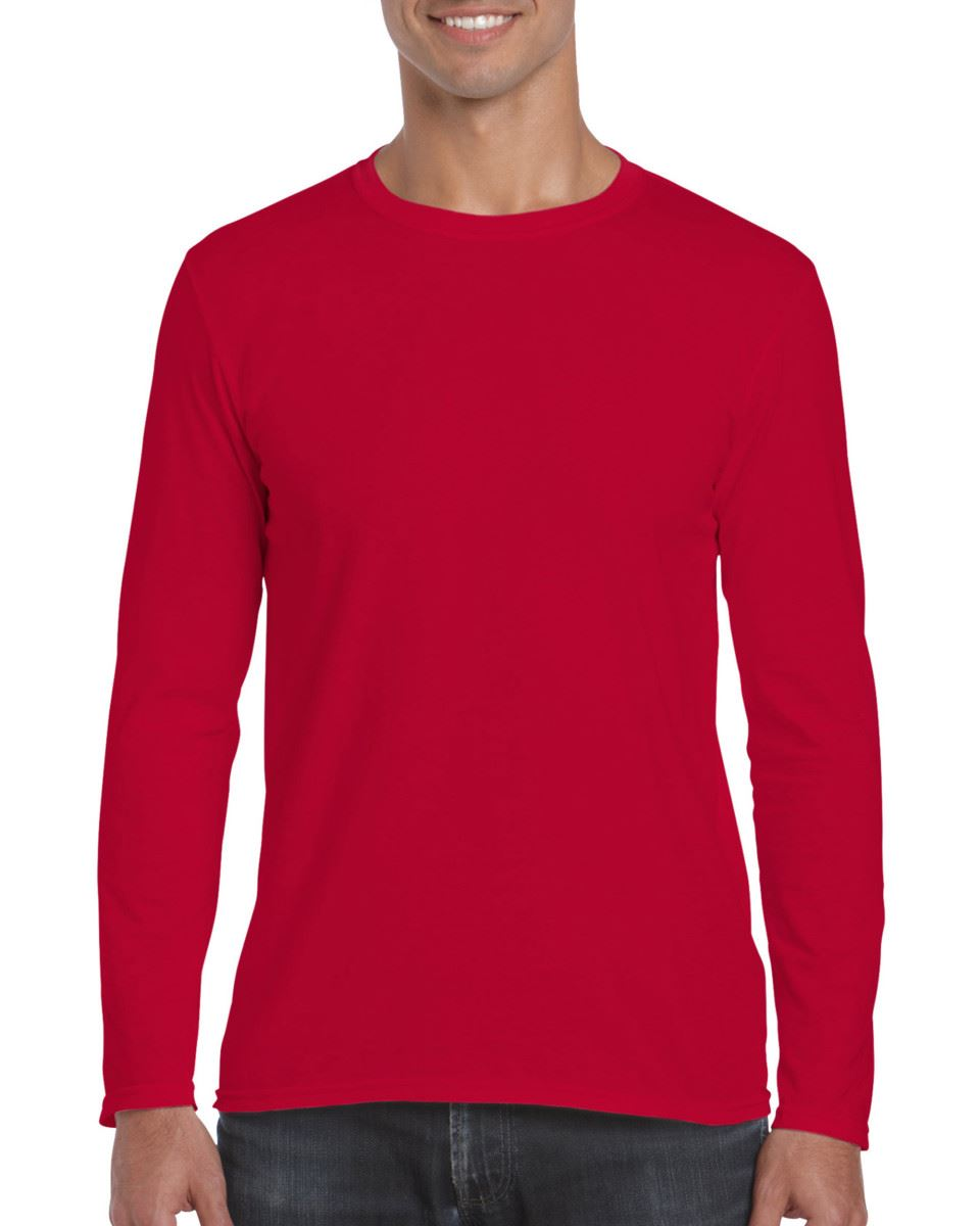 Gildan-MEN-039-S-LONG-SLEEVE-T-SHIRT-SOFT-COTTON-PLAIN-TOP-SLEEVES-CASUAL-NEW-S-2XL thumbnail 31