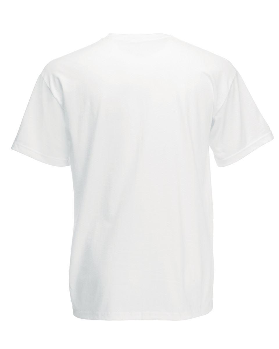 5-Pack-Men-039-s-Fruit-of-the-Loom-Plain-100-Cotton-Blank-Tee-Shirt-Tshirt-T-Shirt thumbnail 5