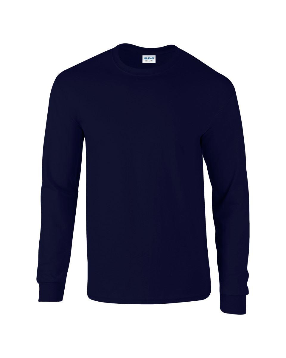 Gildan-Mens-Ultra-Cotton-Adult-Long-Sleeve-Plain-T-Shirt-Tshirt-Cotton-Tee-Shirt thumbnail 20