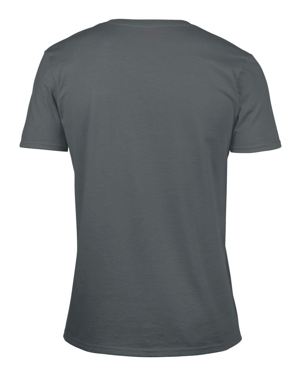 Gildan-Mens-Men-039-s-Soft-Style-Plain-V-Neck-T-Shirt-Cotton-Tee-Tshirt thumbnail 16