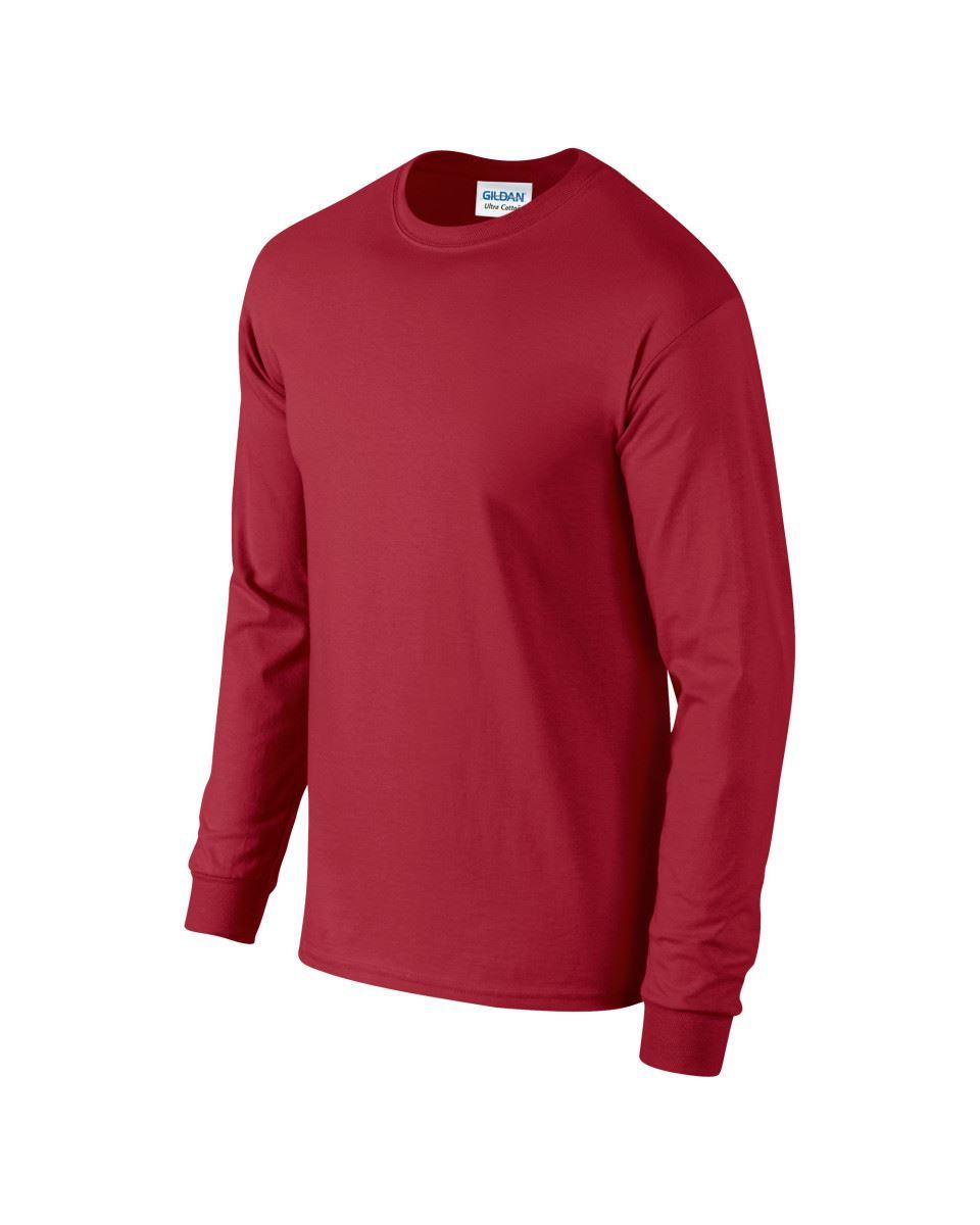 Gildan-Mens-Ultra-Cotton-Adult-Long-Sleeve-Plain-T-Shirt-Tshirt-Cotton-Tee-Shirt thumbnail 41