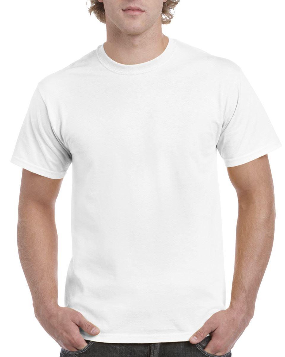 Gildan-Mens-Hammer-Plain-Crew-Neck-T-Shirts-100-Cotton thumbnail 3
