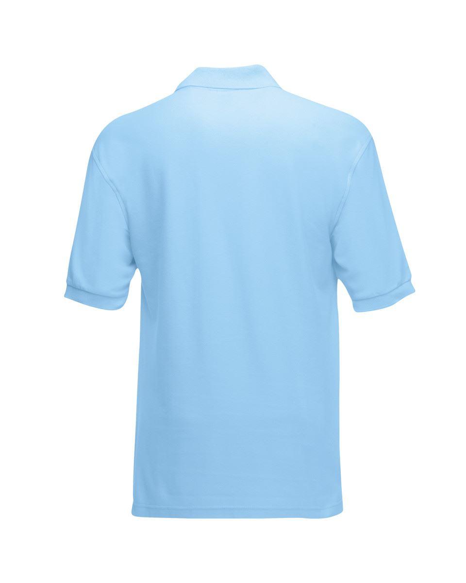 Fruit-of-the-Loom-Plain-Cotton-Mens-Polo-Shirts-T-Shirt-Short-Sleeve-Tshirt thumbnail 27