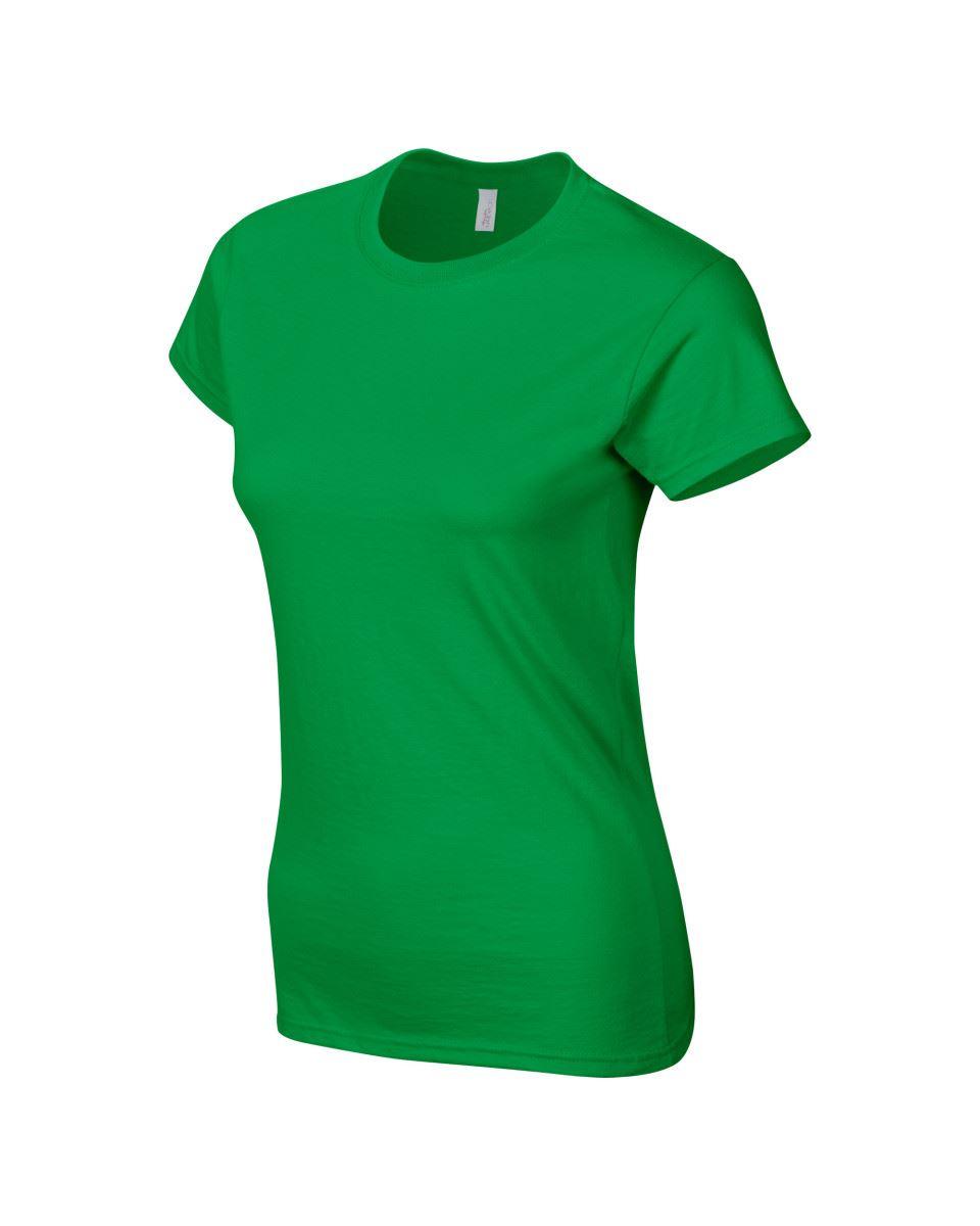 Gildan-Womens-Ladies-Soft-Style-Plain-V-Neck-T-Shirt-Cotton-Tee-Tshirt thumbnail 93