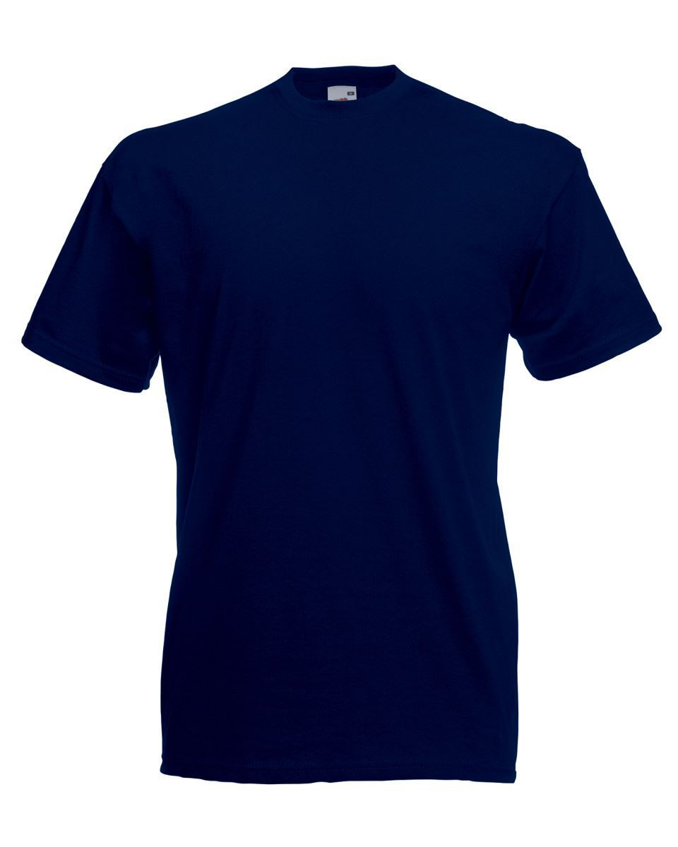 5-Pack-Men-039-s-Fruit-of-the-Loom-Plain-100-Cotton-Blank-Tee-Shirt-Tshirt-T-Shirt thumbnail 110