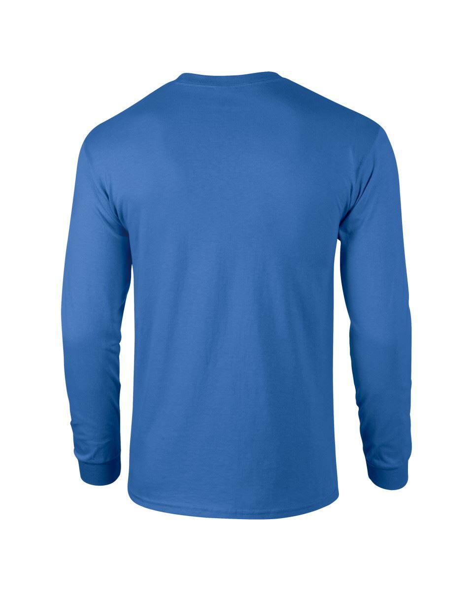 Gildan-Mens-Ultra-Cotton-Adult-Long-Sleeve-Plain-T-Shirt-Tshirt-Cotton-Tee-Shirt thumbnail 32