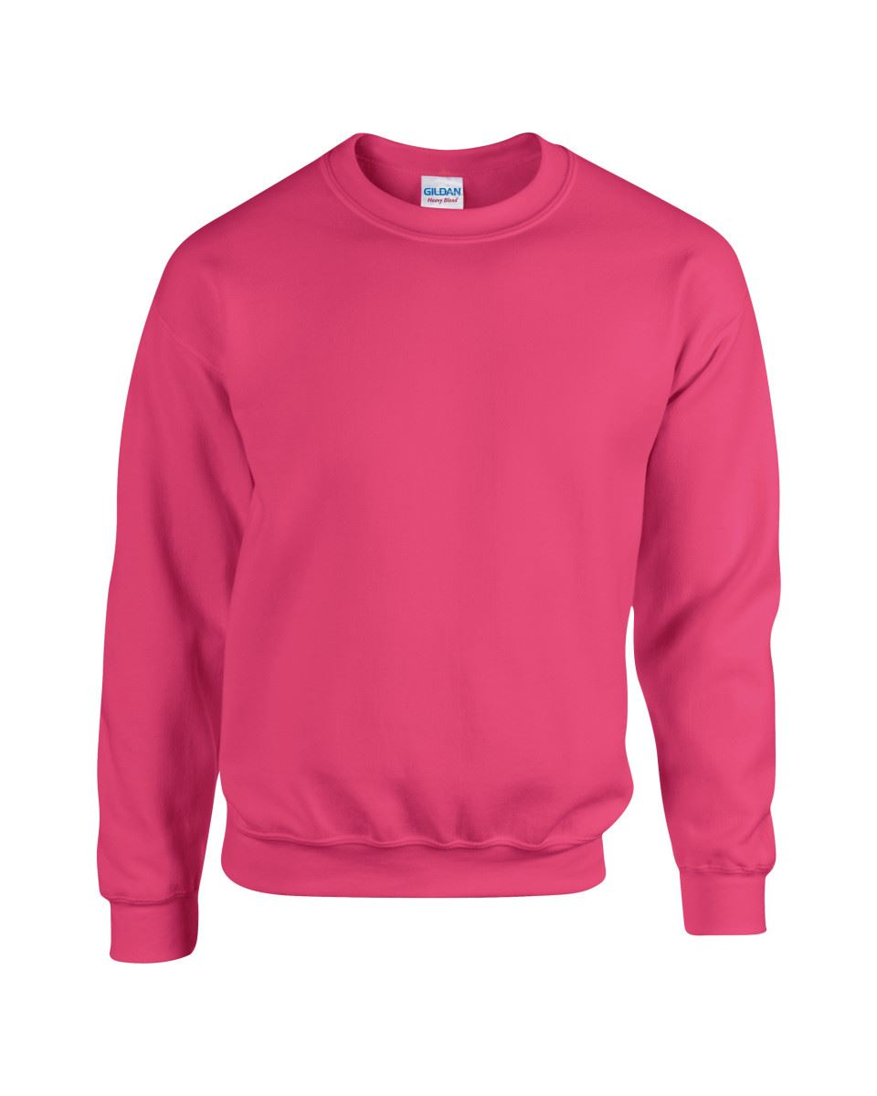 Gildan-Heavy-Blend-Adult-Crew-Neck-Pullover-Sweatshirt-Sweater-Workwear-Uniform thumbnail 94