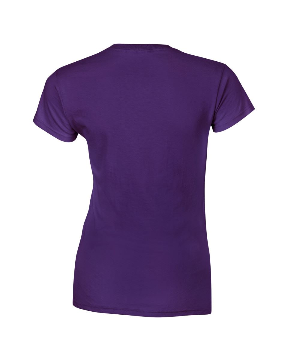 Gildan-Womens-Ladies-Soft-Style-Plain-V-Neck-T-Shirt-Cotton-Tee-Tshirt thumbnail 119