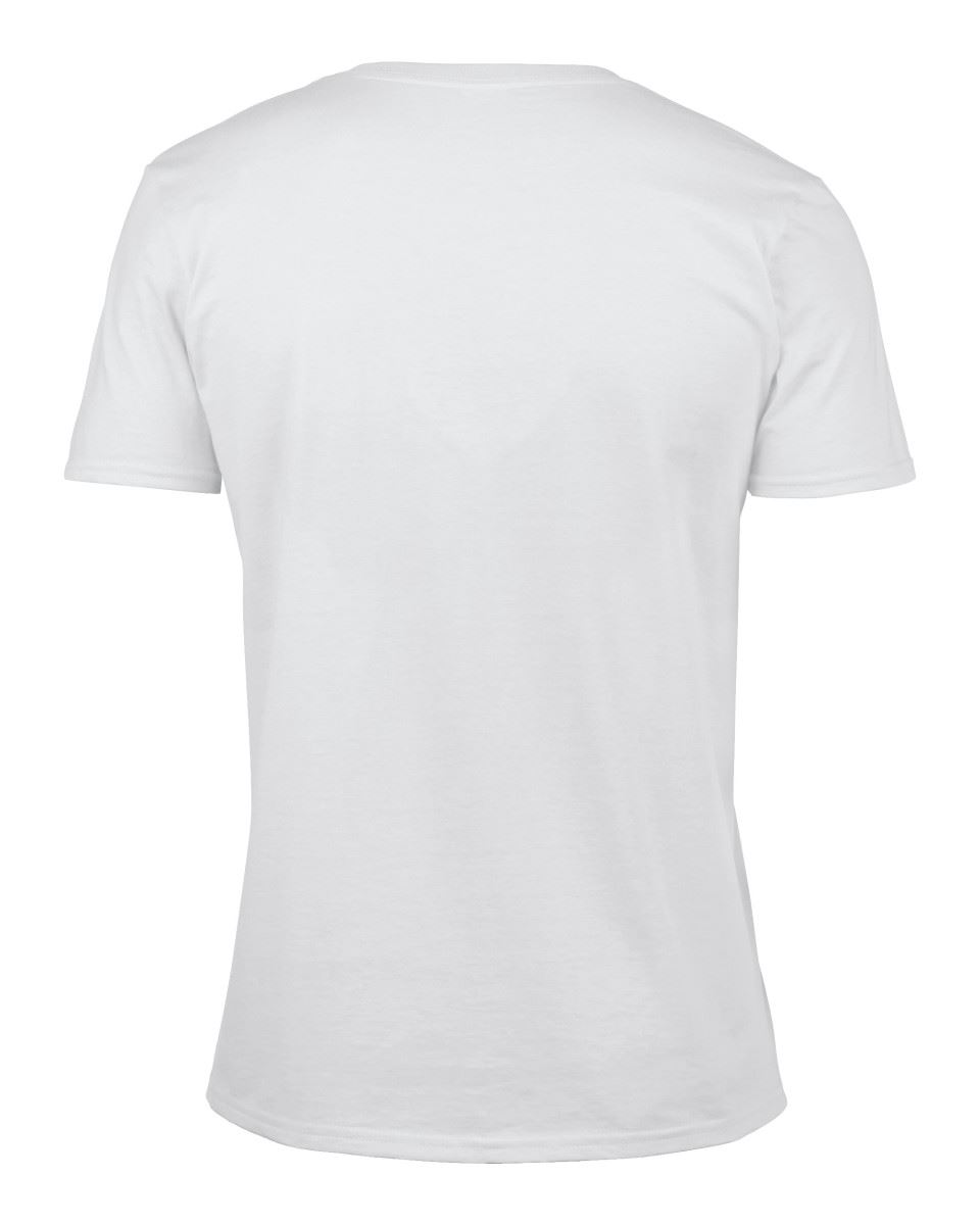Gildan-Mens-Men-039-s-Soft-Style-Plain-V-Neck-T-Shirt-Cotton-Tee-Tshirt thumbnail 6