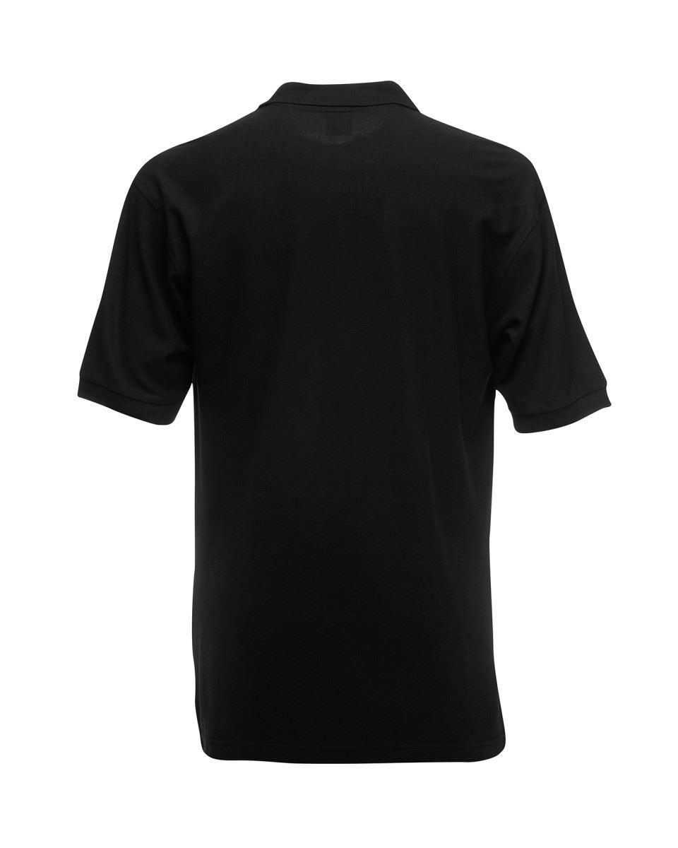 Mens-Polo-Shirts-Fruit-of-the-Loom-Premium-Polo-100-Cotton-Polo-Shirt-SS255 thumbnail 5