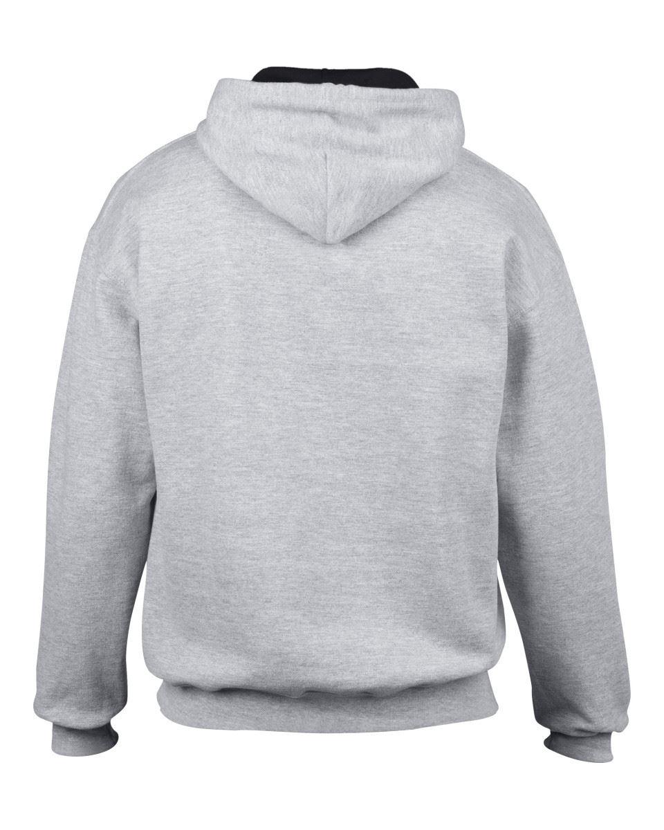 Gildan-Heavy-Blend-Plain-Contrast-Hooded-Sweatshirt-Hoodie-Sweat-Hoody-Jumper thumbnail 34