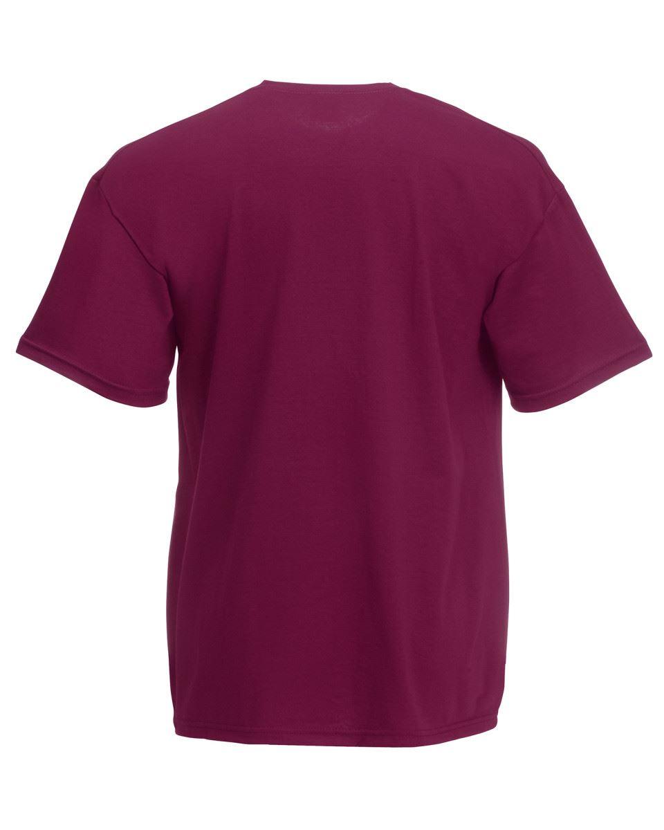 Fruit-of-the-Loom-Super-Premium-T-Shirt-Heavy-Cotton-Blank-Tee-Shirt-S-XXXL Indexbild 11