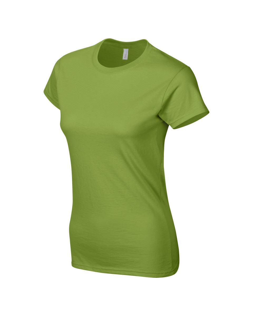 Gildan-Womens-Ladies-Soft-Style-Plain-V-Neck-T-Shirt-Cotton-Tee-Tshirt thumbnail 98
