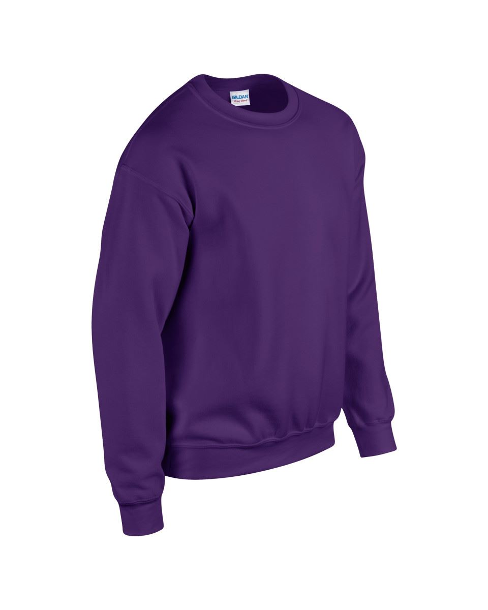 Gildan-Heavy-Blend-Adult-Crew-Neck-Pullover-Sweatshirt-Sweater-Workwear-Uniform thumbnail 135