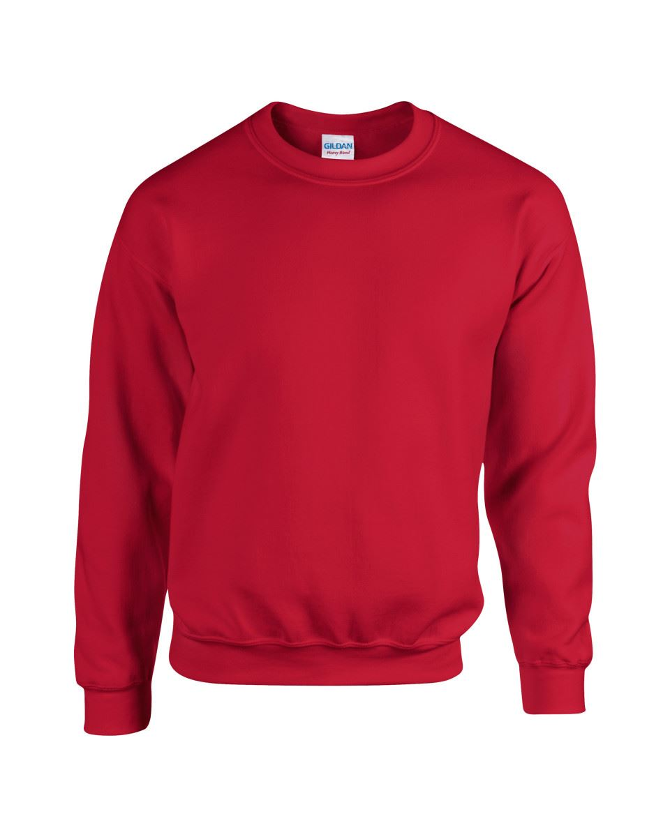 Gildan-Heavy-Blend-Adult-Crew-Neck-Pullover-Sweatshirt-Sweater-Workwear-Uniform thumbnail 57