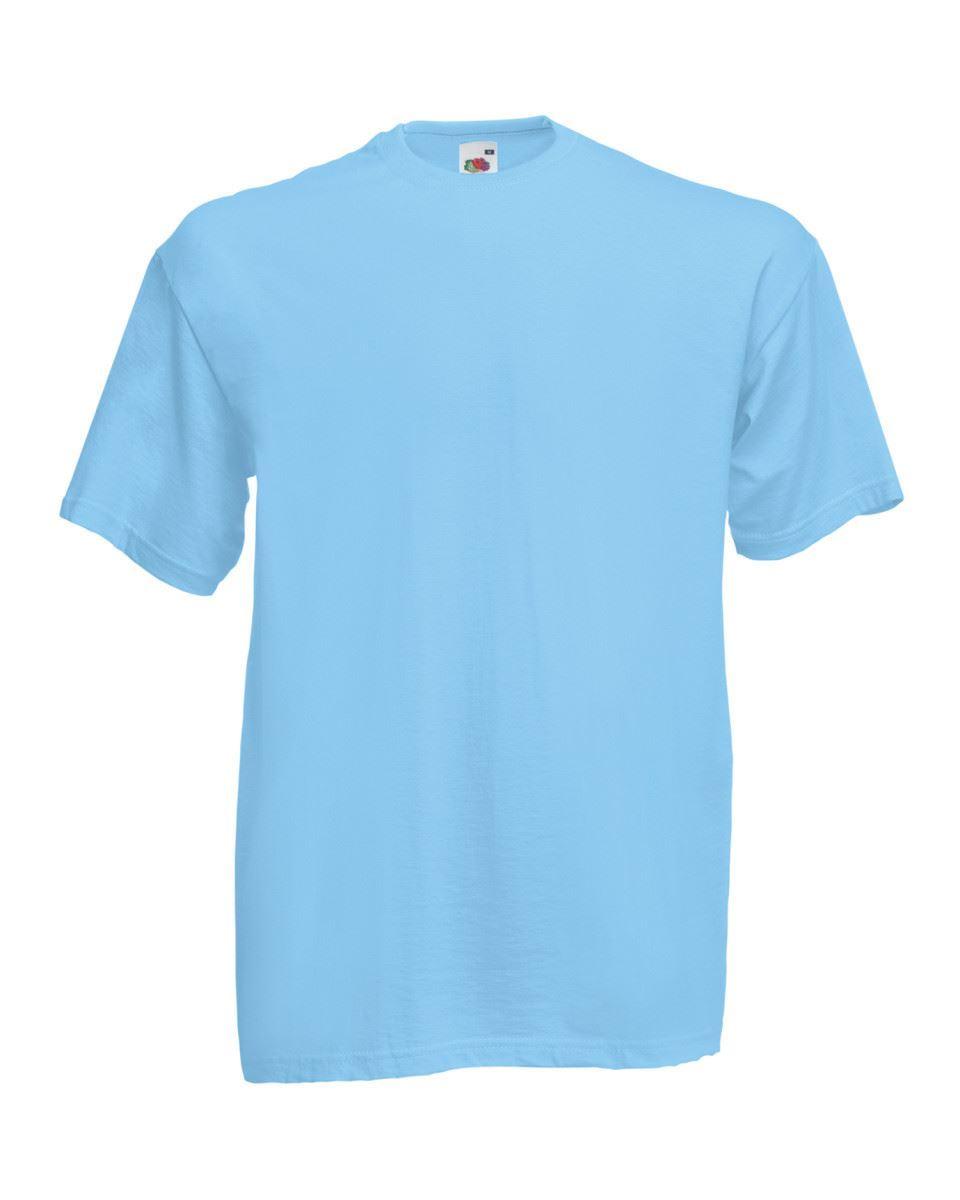 5-Pack-Men-039-s-Fruit-of-the-Loom-Plain-100-Cotton-Blank-Tee-Shirt-Tshirt-T-Shirt thumbnail 283