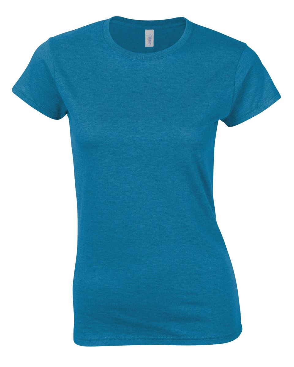 Gildan-Womens-Ladies-Soft-Style-Plain-V-Neck-T-Shirt-Cotton-Tee-Tshirt thumbnail 24