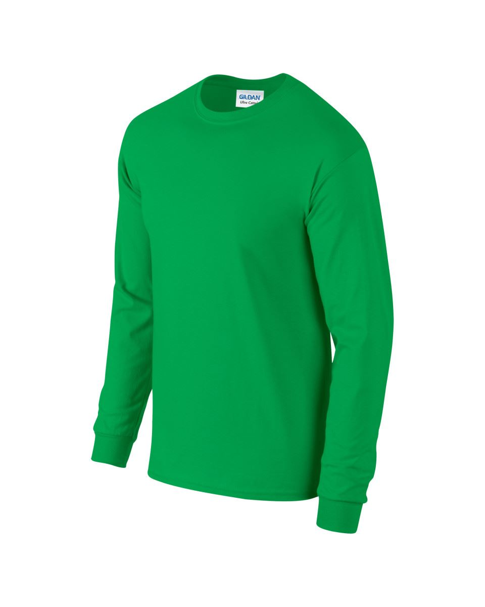 Gildan-Mens-Ultra-Cotton-Adult-Long-Sleeve-Plain-T-Shirt-Tshirt-Cotton-Tee-Shirt thumbnail 76