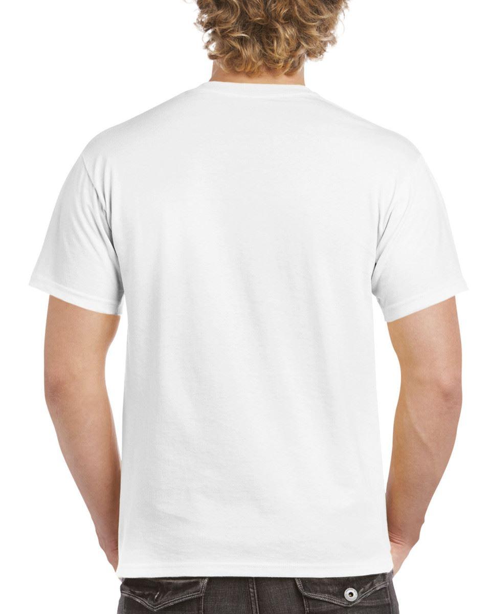 Gildan-Mens-Hammer-Plain-Crew-Neck-T-Shirts-100-Cotton thumbnail 4