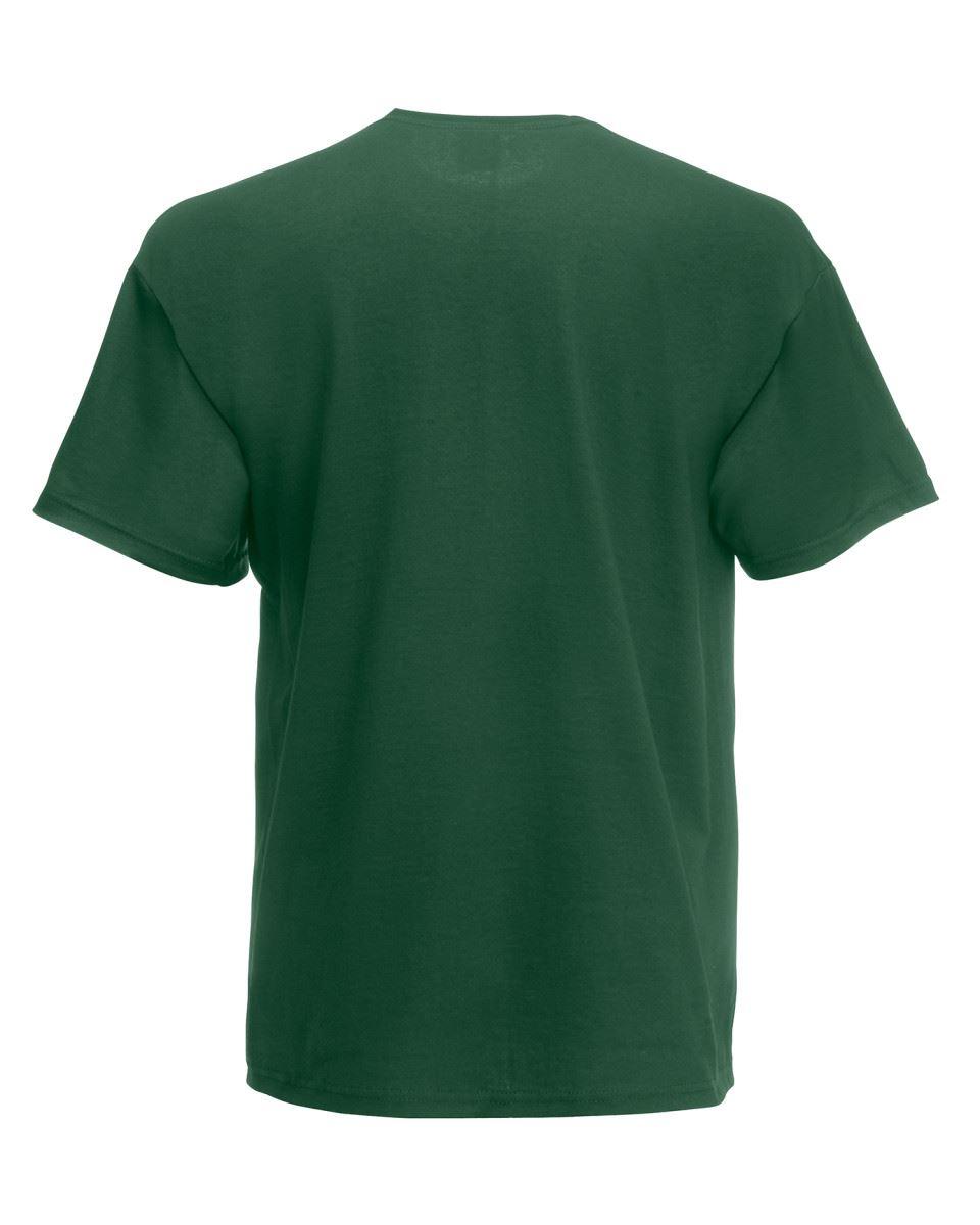 Fruit-of-the-Loom-Super-Premium-T-Shirt-Heavy-Cotton-Blank-Tee-Shirt-S-XXXL Indexbild 9