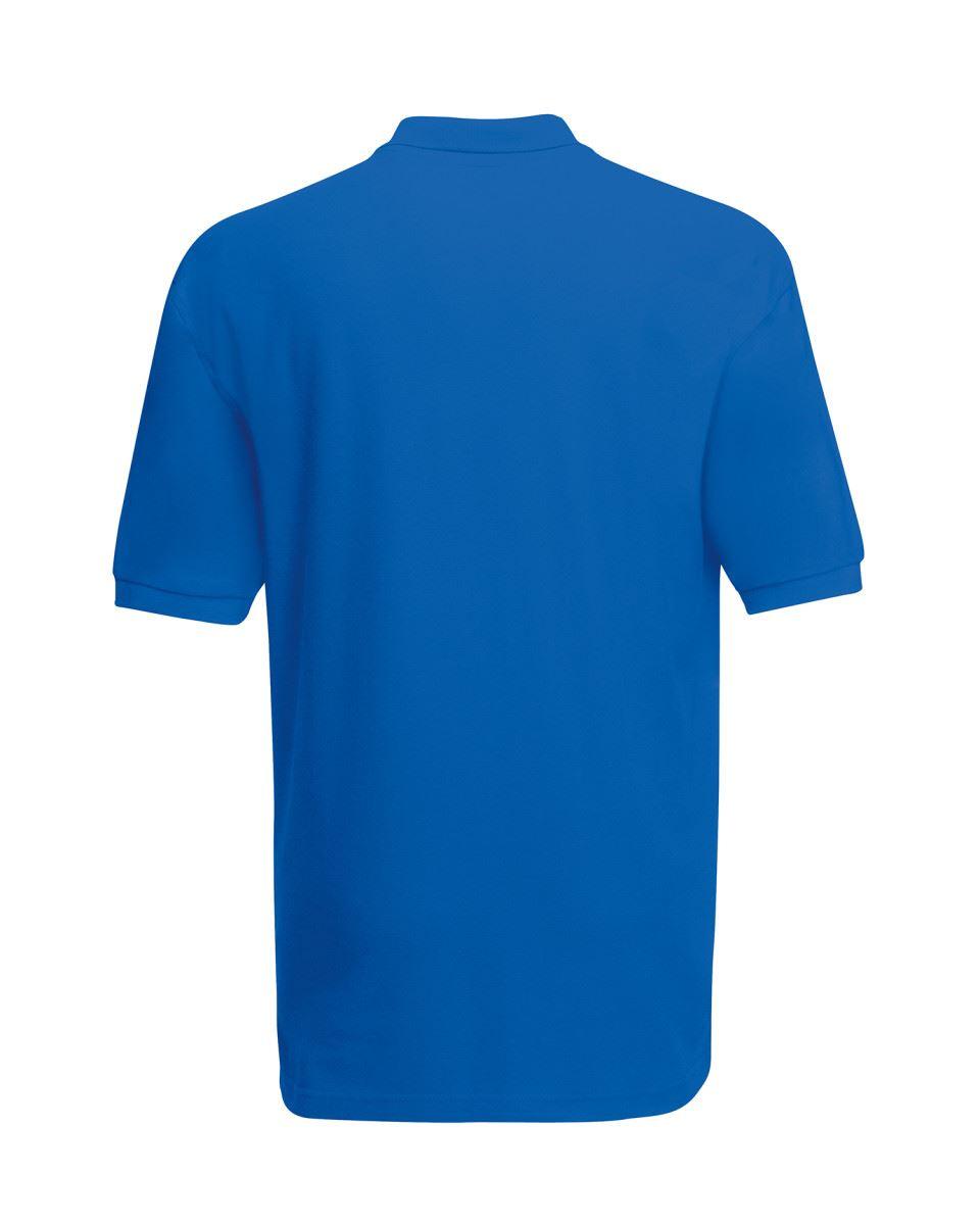 Mens-Polo-Shirts-Fruit-of-the-Loom-Premium-Polo-100-Cotton-Polo-Shirt-SS255 thumbnail 41