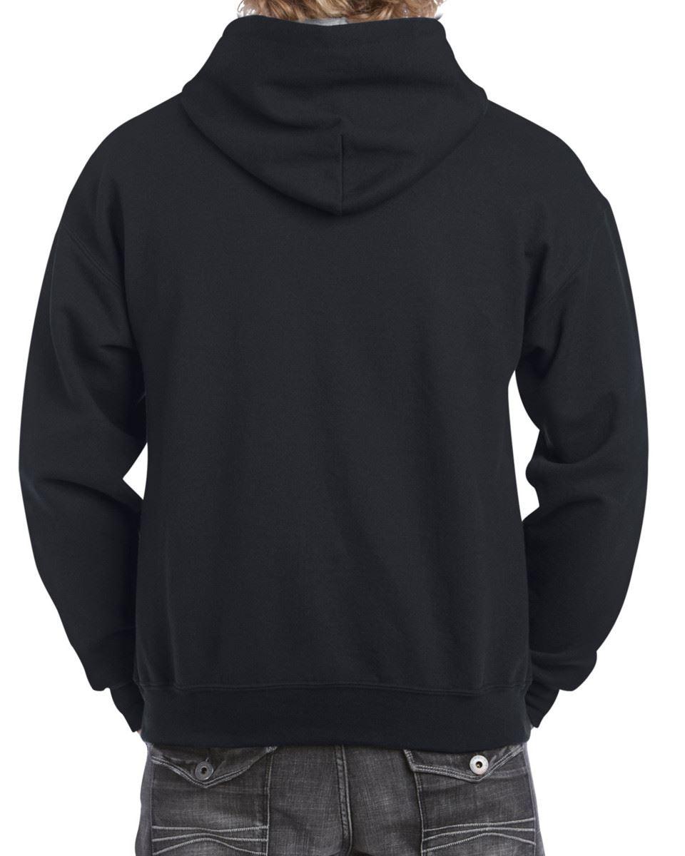 Gildan-Heavy-Blend-Plain-Contrast-Hooded-Sweatshirt-Hoodie-Sweat-Hoody-Jumper thumbnail 12