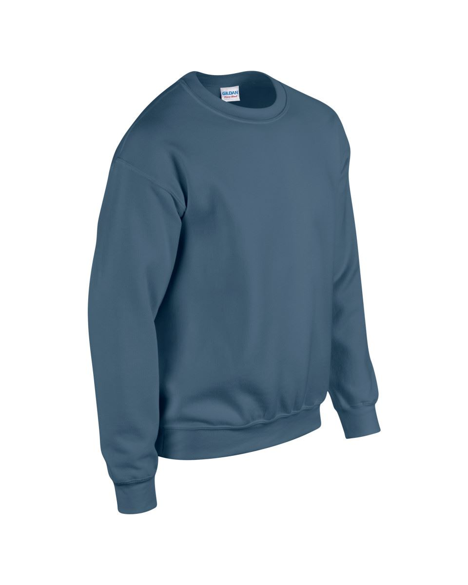 Gildan-Heavy-Blend-Adult-Crew-Neck-Pullover-Sweatshirt-Sweater-Workwear-Uniform thumbnail 115