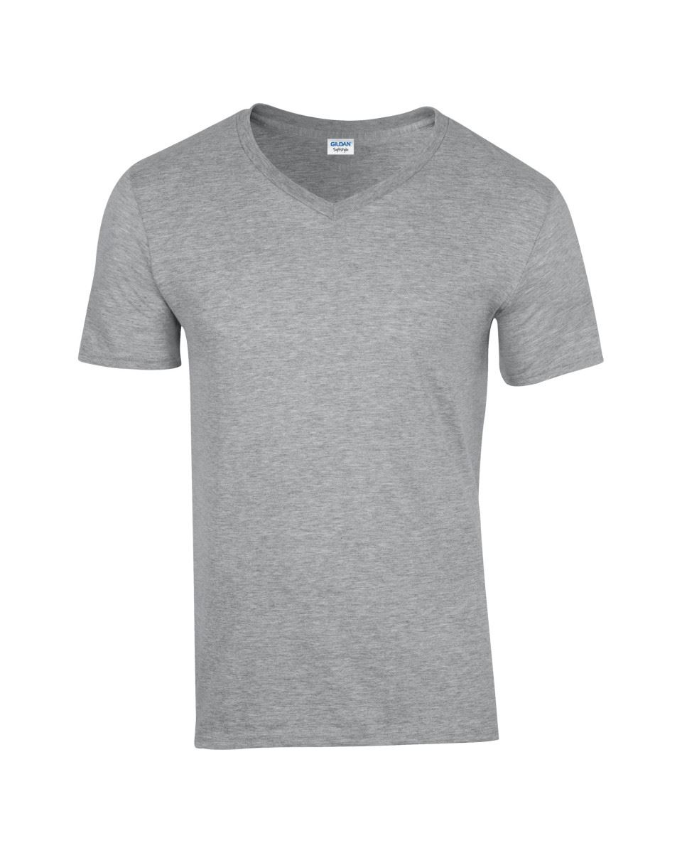Gildan-Mens-Men-039-s-Soft-Style-Plain-V-Neck-T-Shirt-Cotton-Tee-Tshirt thumbnail 60
