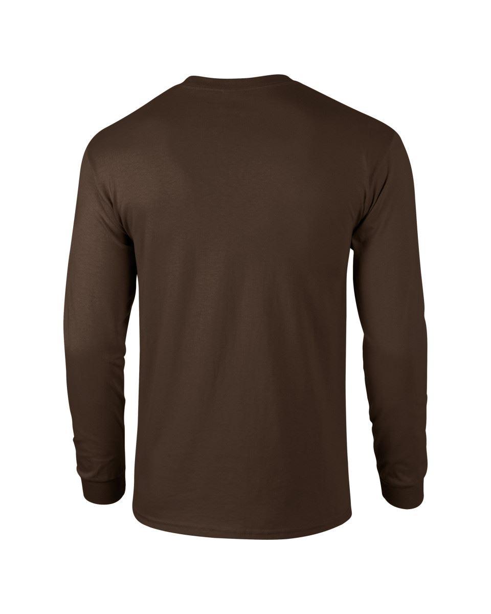 Gildan-Mens-Ultra-Cotton-Adult-Long-Sleeve-Plain-T-Shirt-Tshirt-Cotton-Tee-Shirt thumbnail 57
