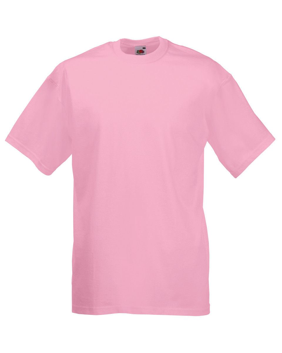 Fruit-Of-The-Loom-Mens-Womens-Valueweight-Plain-Crew-Neck-T-Shirt-Tee-Cotton thumbnail 97