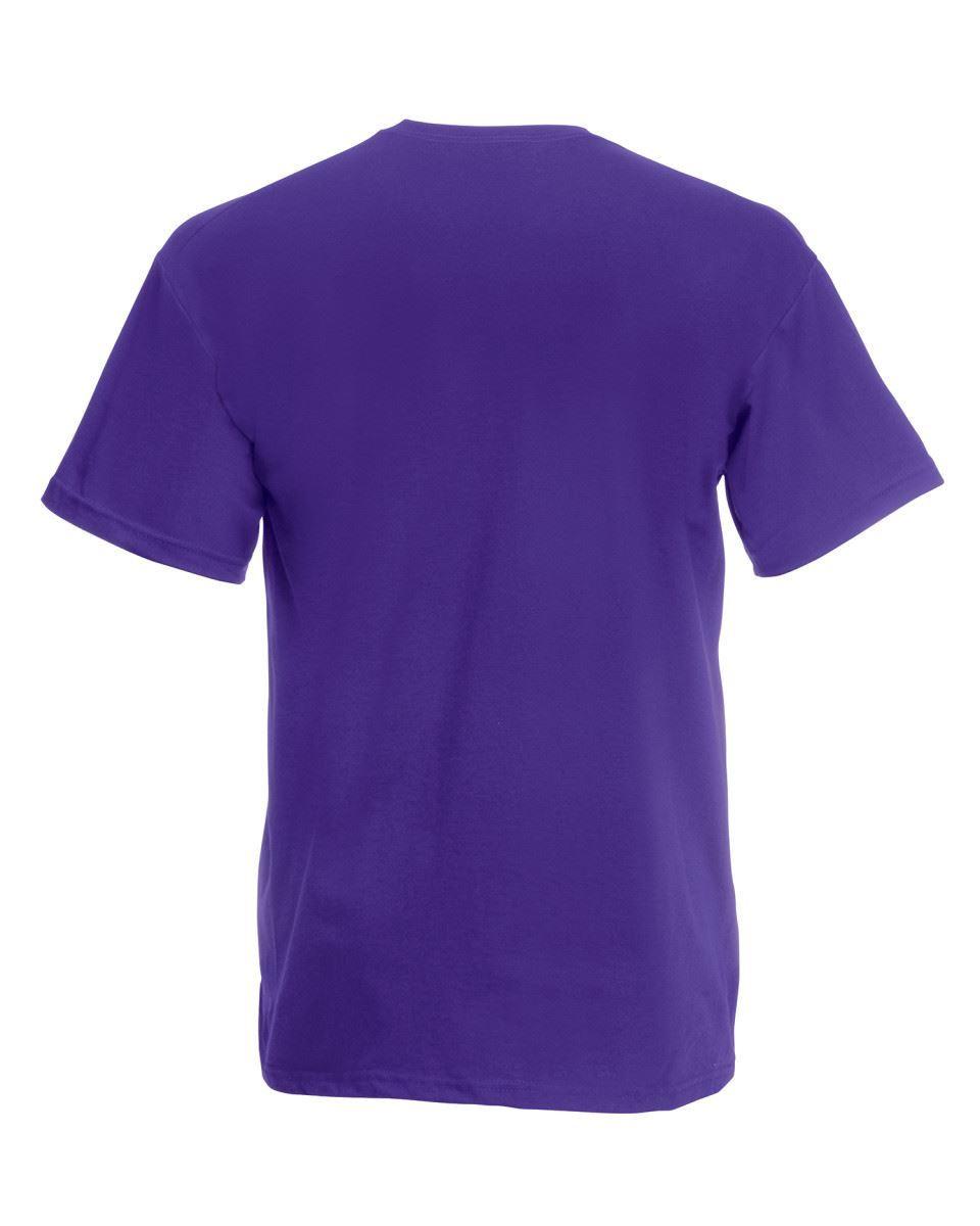 5-Pack-Men-039-s-Fruit-of-the-Loom-Plain-100-Cotton-Blank-Tee-Shirt-Tshirt-T-Shirt thumbnail 232