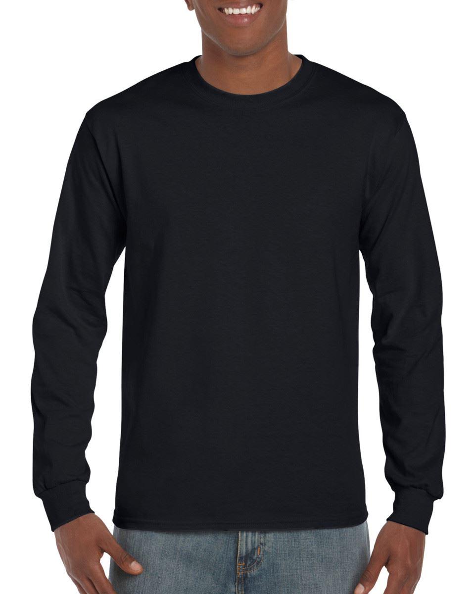 3-Pack-Gildan-Mens-Ultra-Cotton-Adult-Long-Sleeve-Plain-T-Shirt-Cotton-Tee-Shirt thumbnail 2