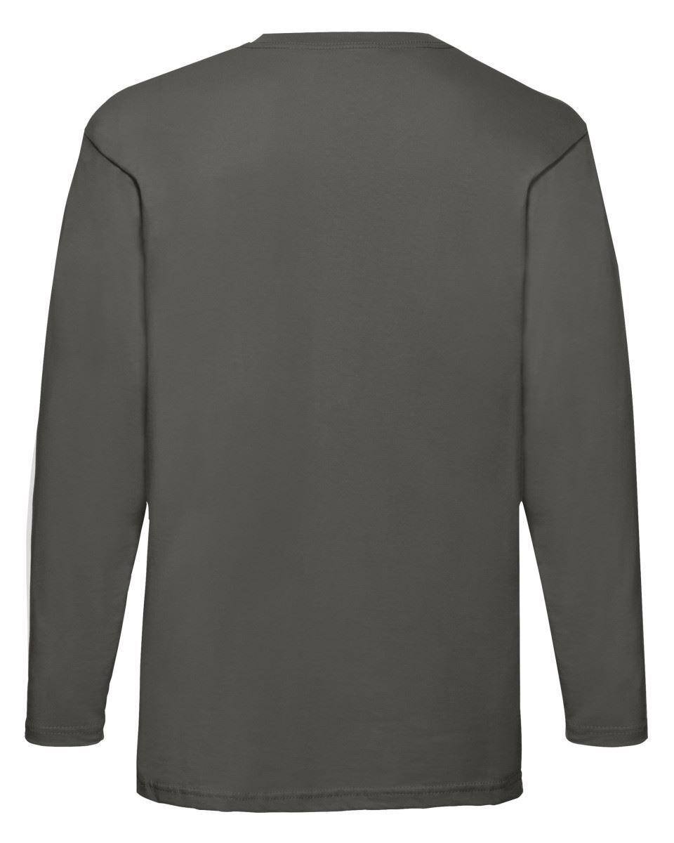 3-Pack-Men-039-s-Fruit-of-the-Loom-Long-Sleeve-T-Shirt-Plain-Tee-Shirt-Top-Cotton thumbnail 63
