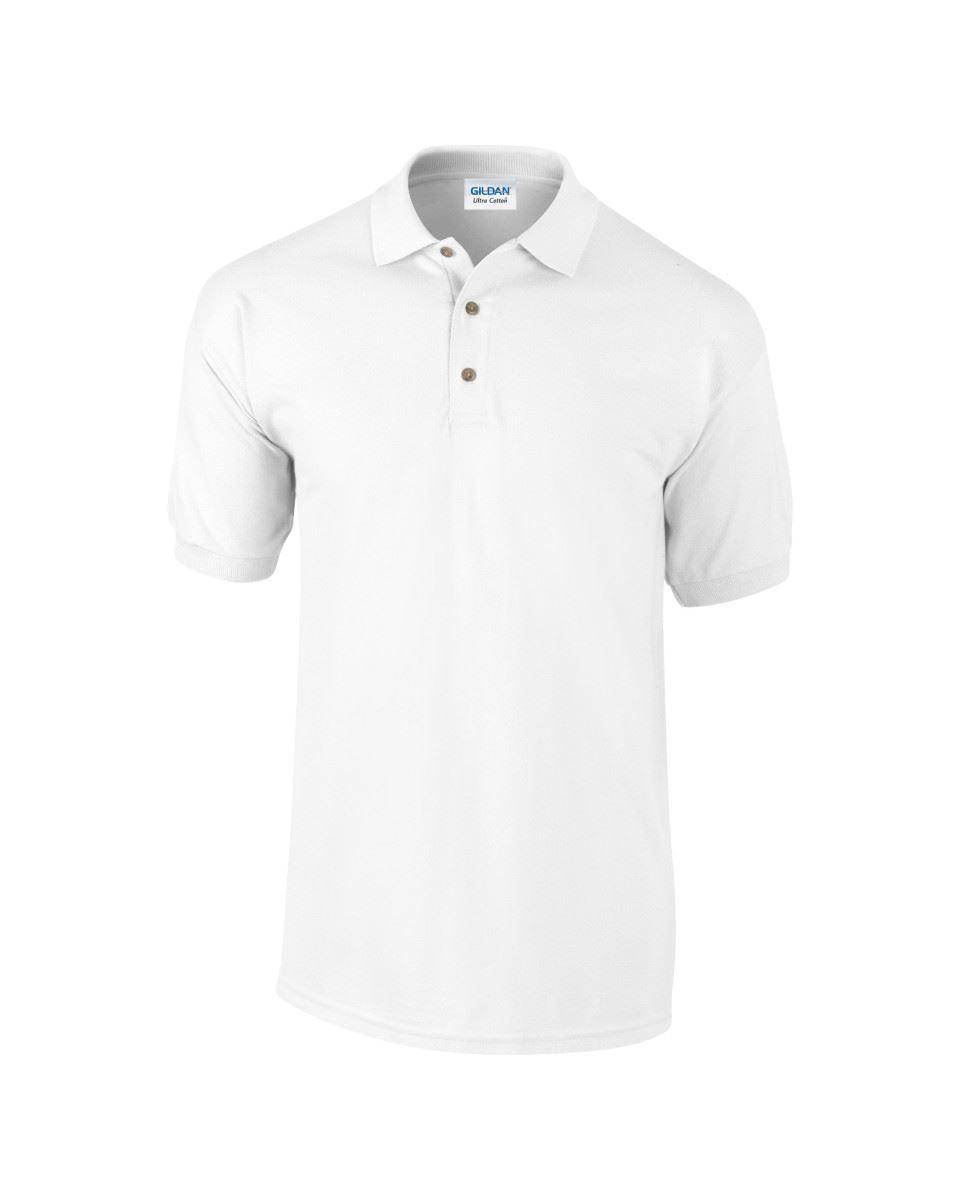 5-Pack-Gildan-Ultra-Cotton-Adult-Pique-Plain-Polo-Shirt-Tee-T-Shirt-Ringspun thumbnail 4