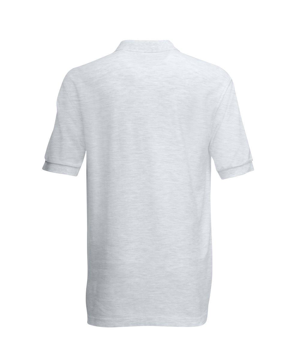 Mens-Polo-Shirts-Fruit-of-the-Loom-Premium-Polo-100-Cotton-Polo-Shirt-SS255 thumbnail 7