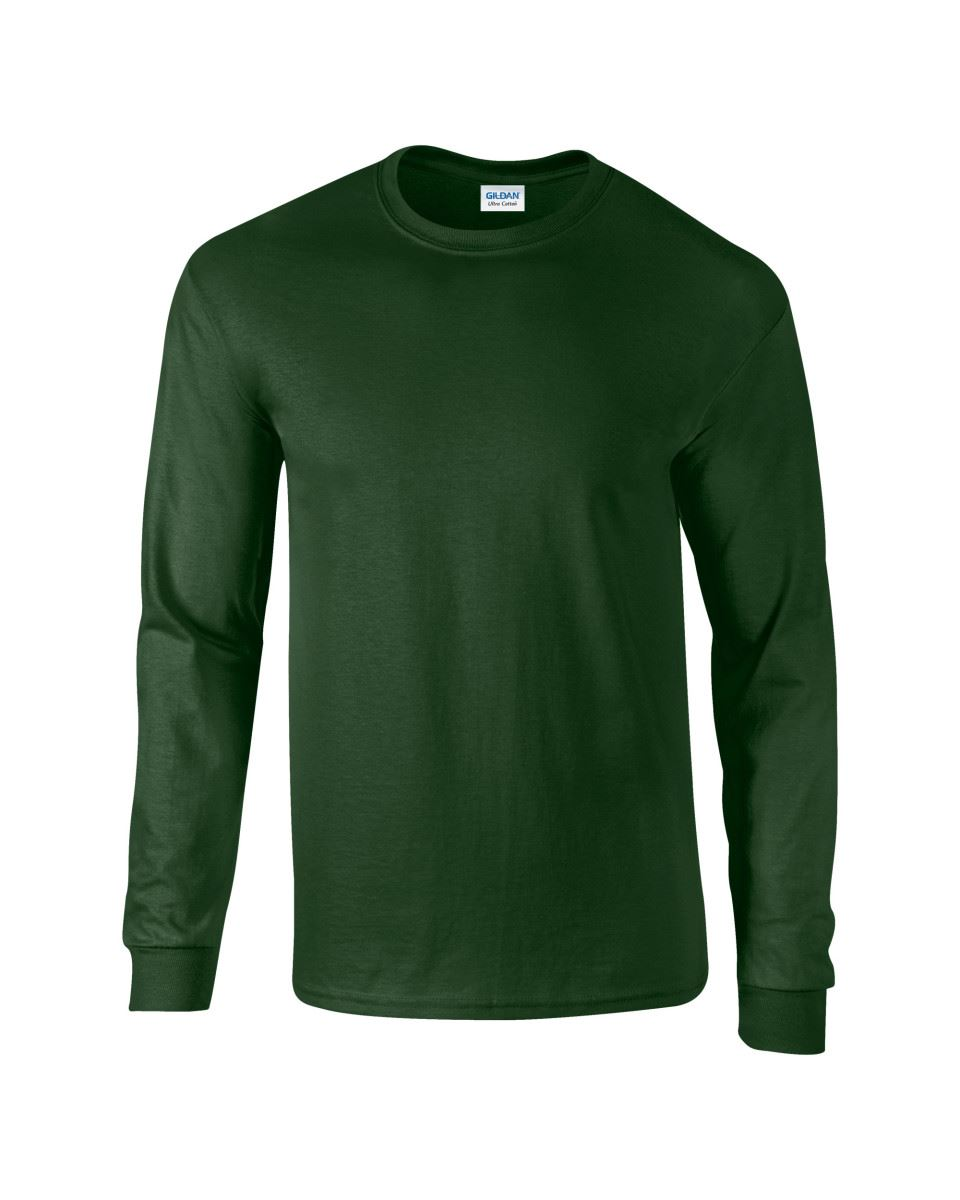 Gildan-Mens-Ultra-Cotton-Adult-Long-Sleeve-Plain-T-Shirt-Tshirt-Cotton-Tee-Shirt thumbnail 65